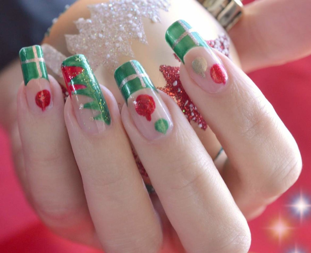 Christmas Nail Art Ideas For Kids