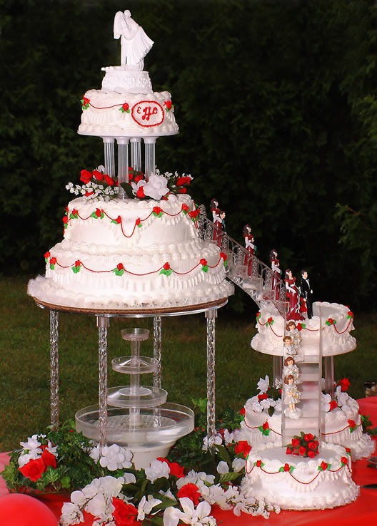 Images Of Wedding Cakes With Fountains