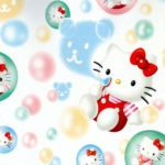 bubbles hello kitty