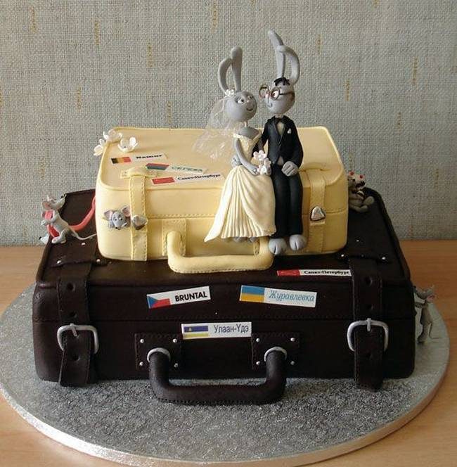 bunny wedding cakes