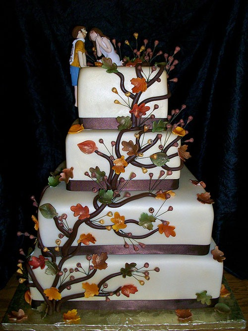 lovely wedding cakes