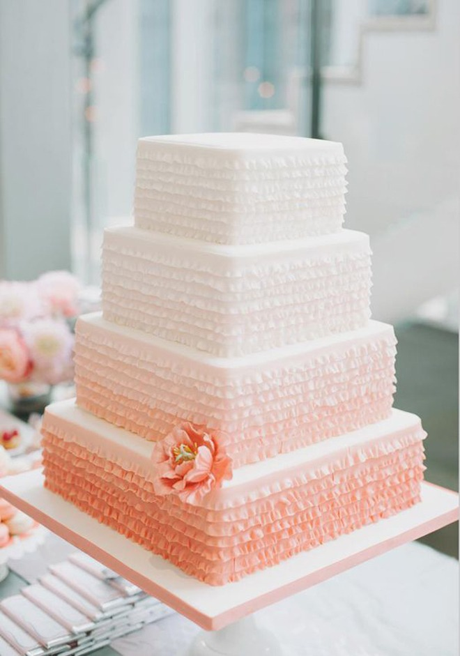 60 unique wedding cakes designs ombre wedding cakes junglespirit Gallery