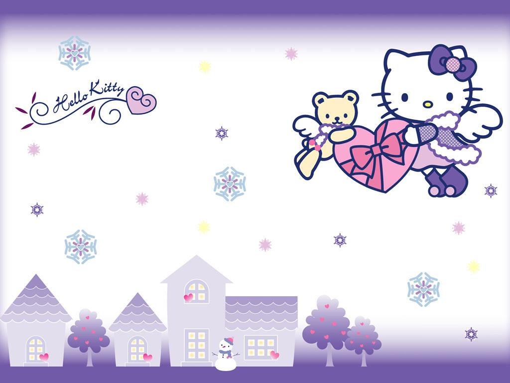 Snowflakes Hello Kitty