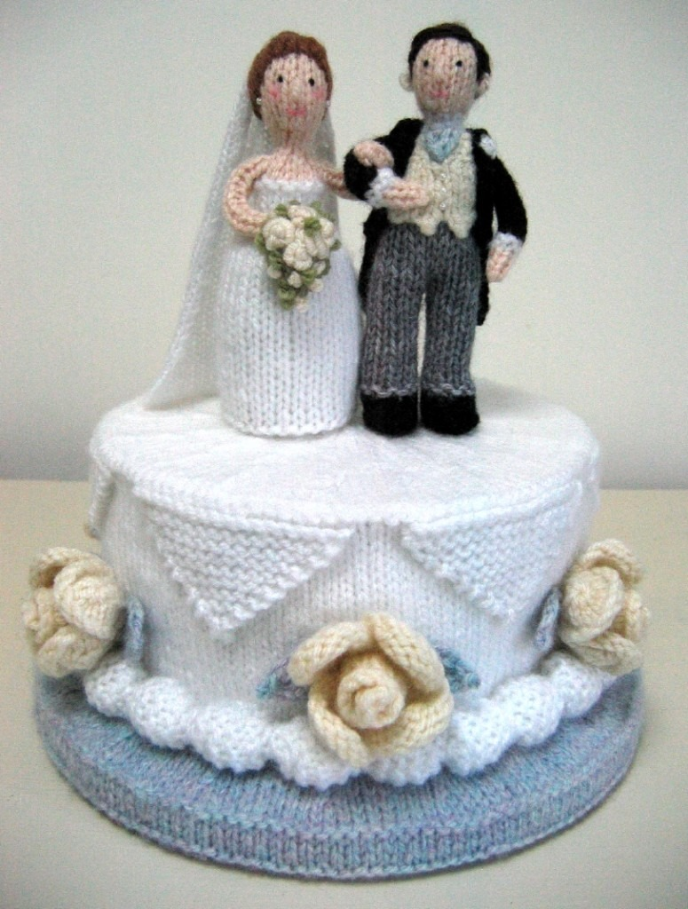 wollen wedding cake