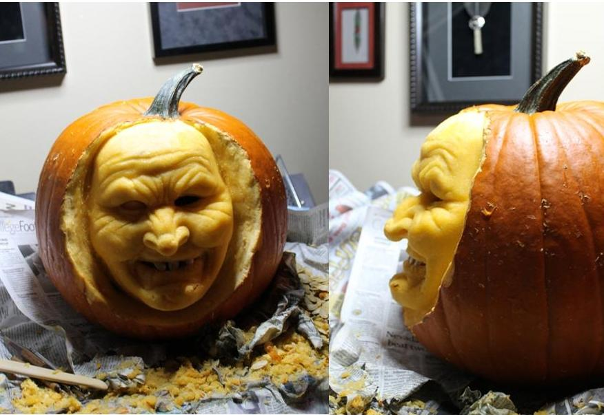 3d pumpkin-carving