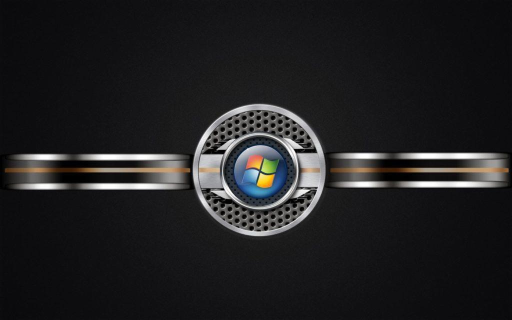 Black Metal Windows Logo Wallpapers