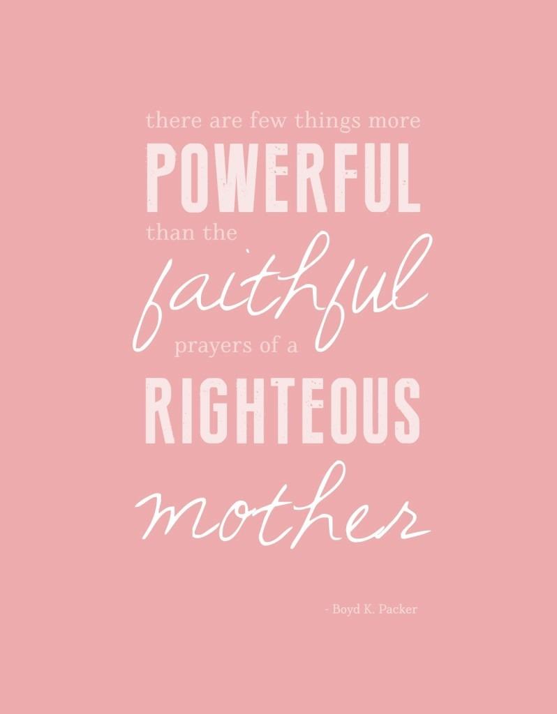 Powerful faithful righteous