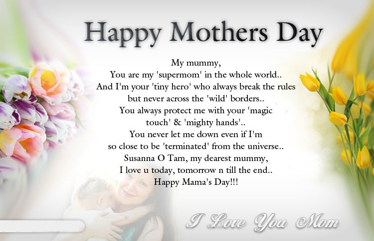 Happy Mama Day
