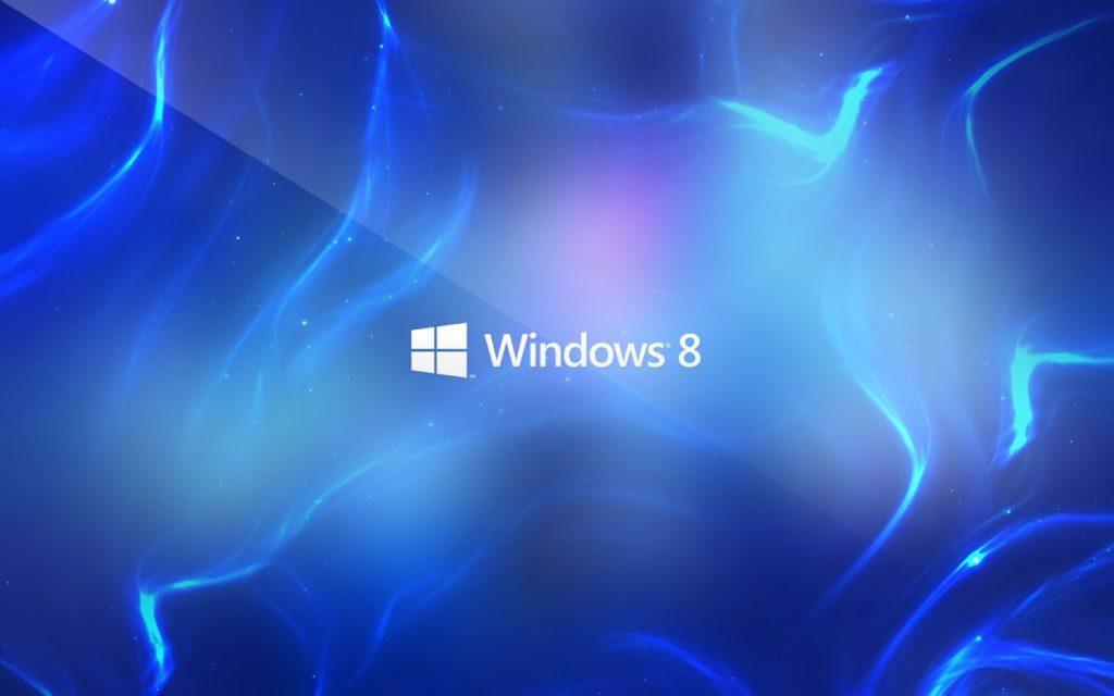 Blue Windows 8 HD Wallpaper