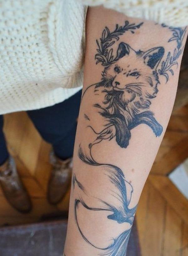fox-arm-tattoo