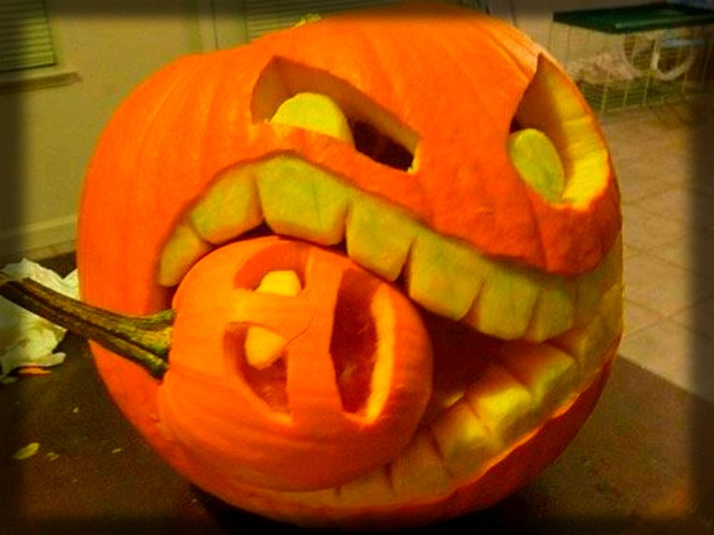 carved pumpkin ideas