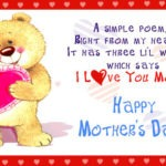 mother day poems 2014