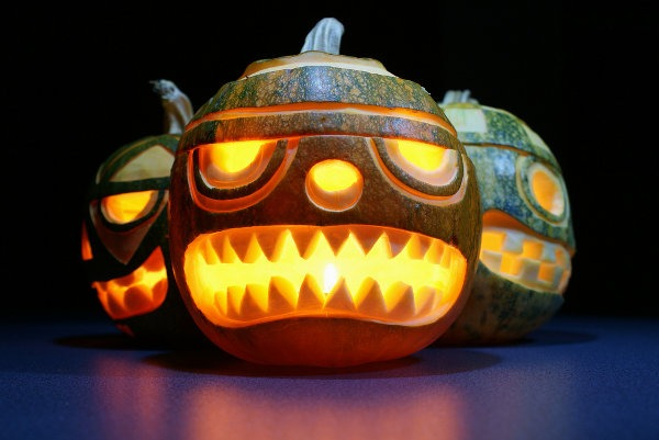 ninja pumpkin-designs