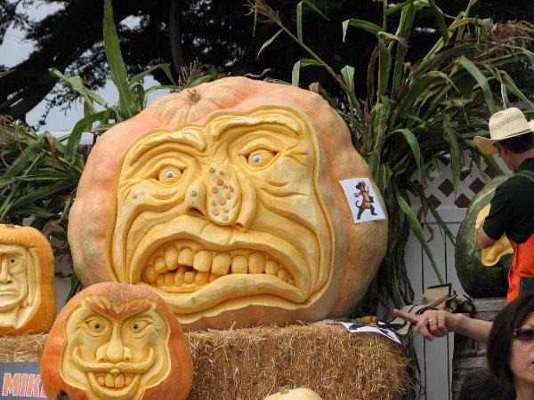pumpkin carving pattern art