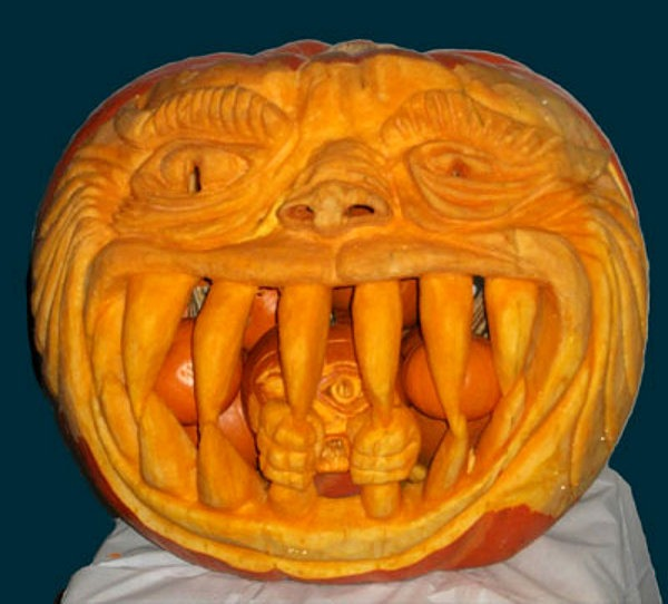 best pumpkin carving pattern