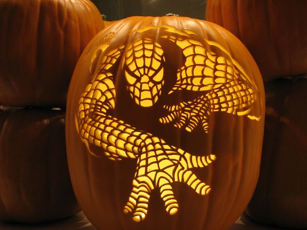 pumpkin-spiderman