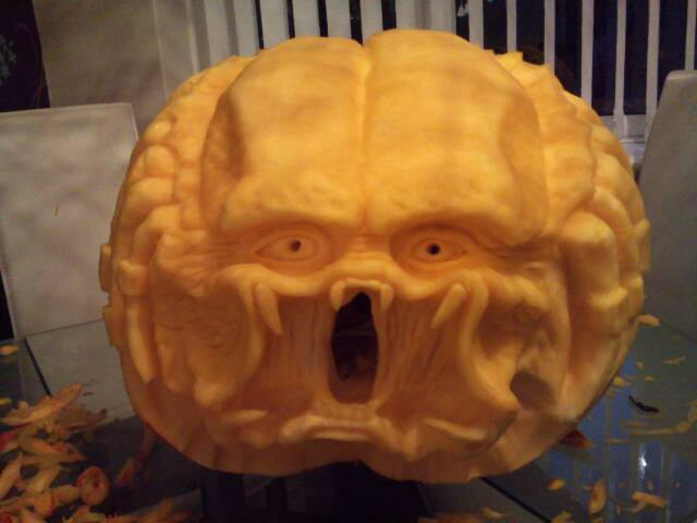 halloween pumpkin carving pattern