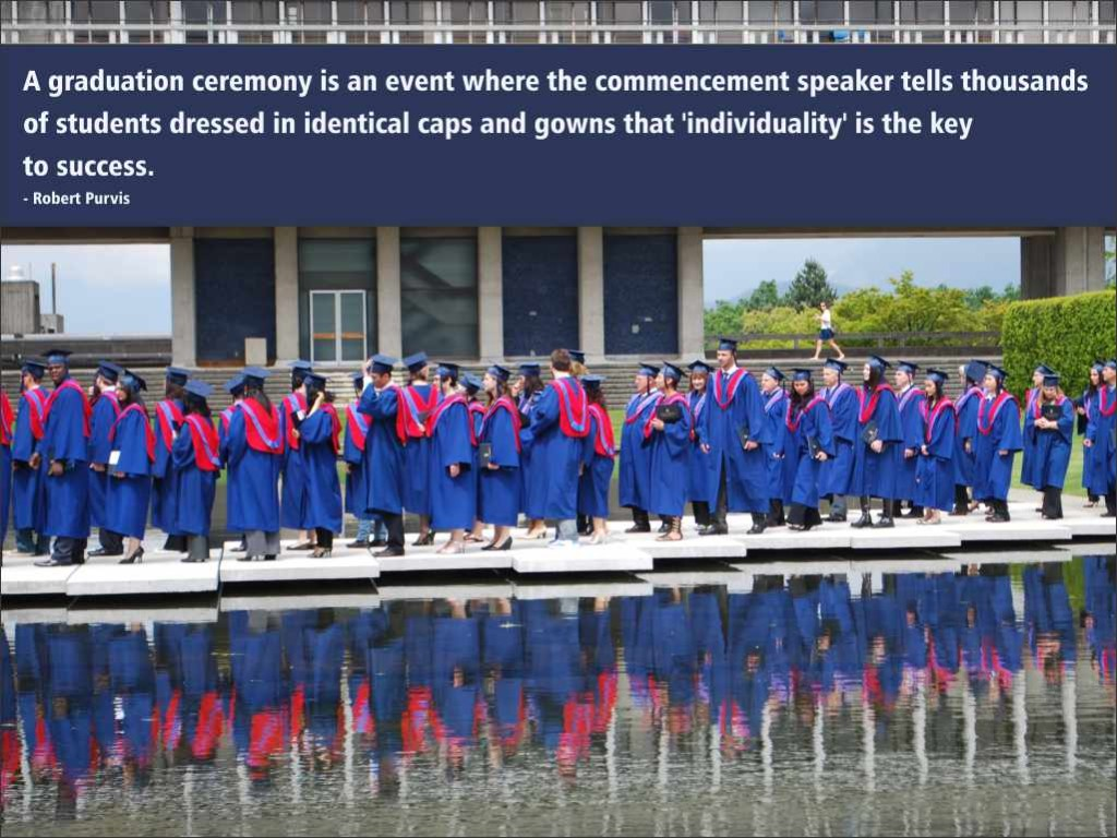 Funny graduation quote