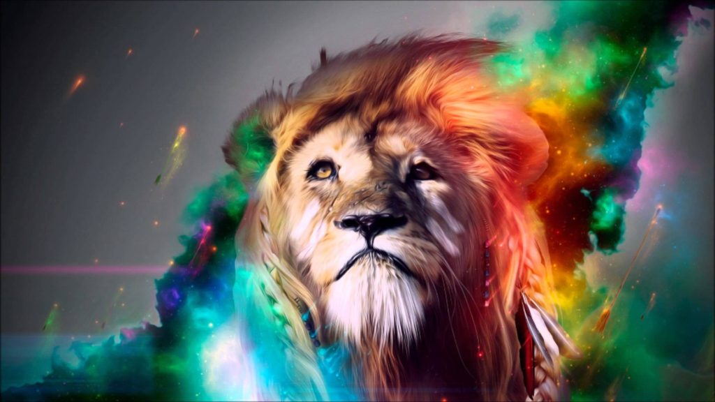 Lion-Abstract-wallpaper