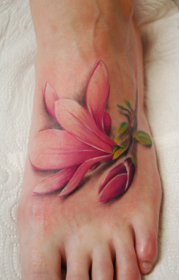 flower-Foot-Tattoo