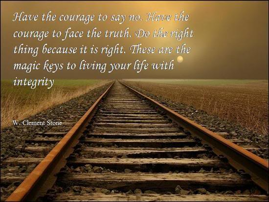 how to develop courage in life