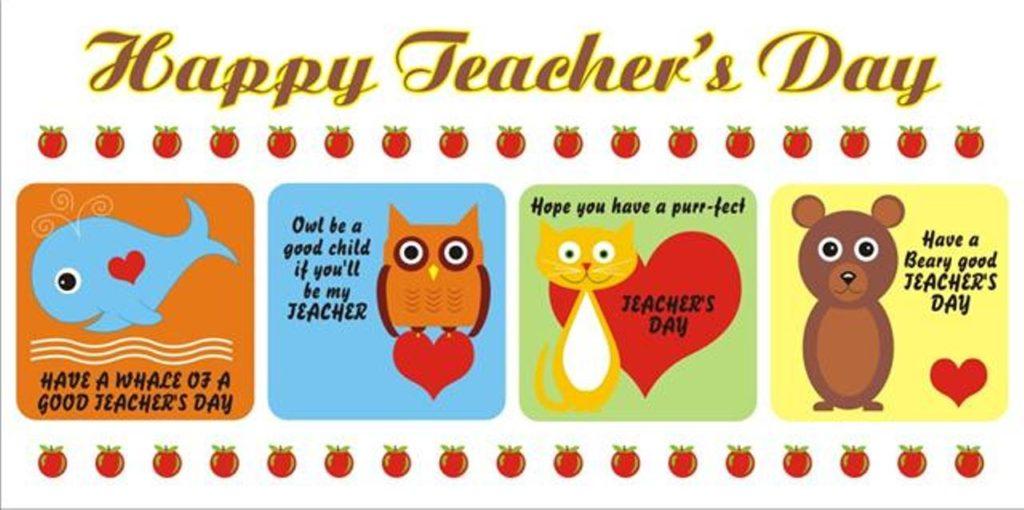 Banner Teacher's Day