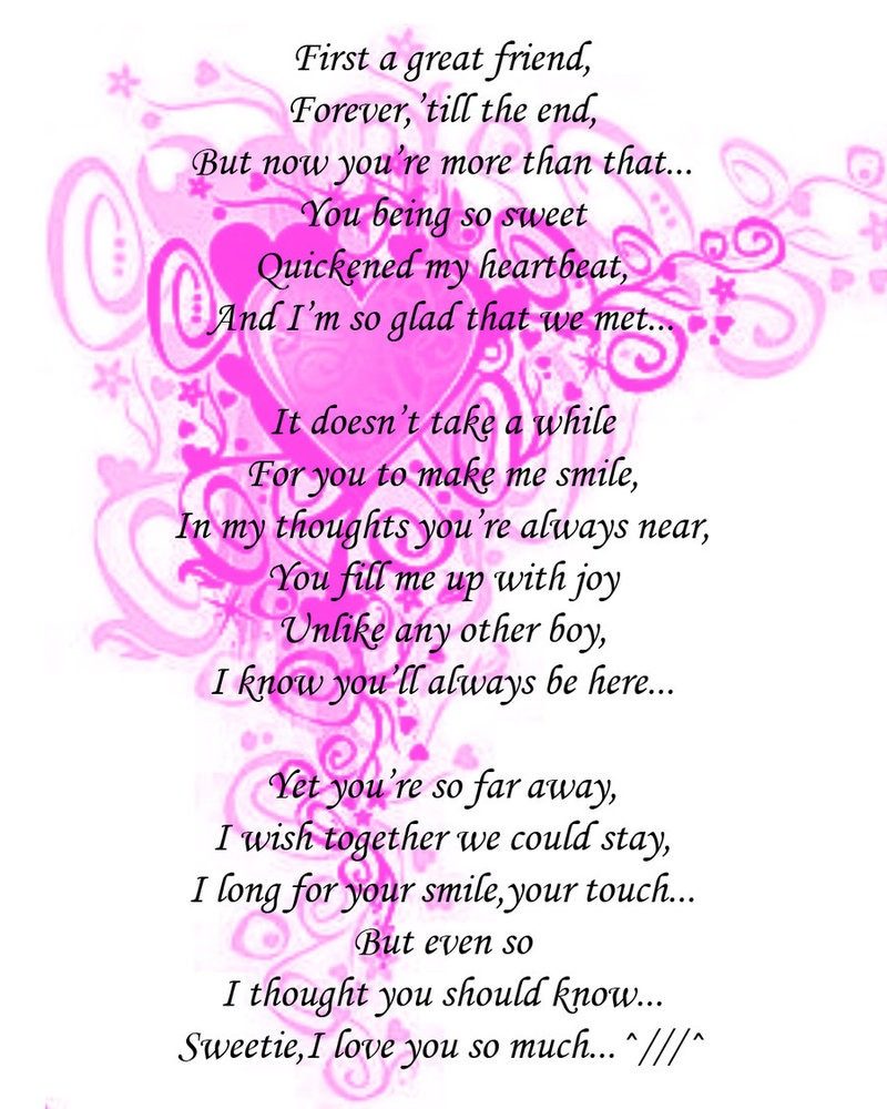 25+ Romantic Love Poem for Him from Heart