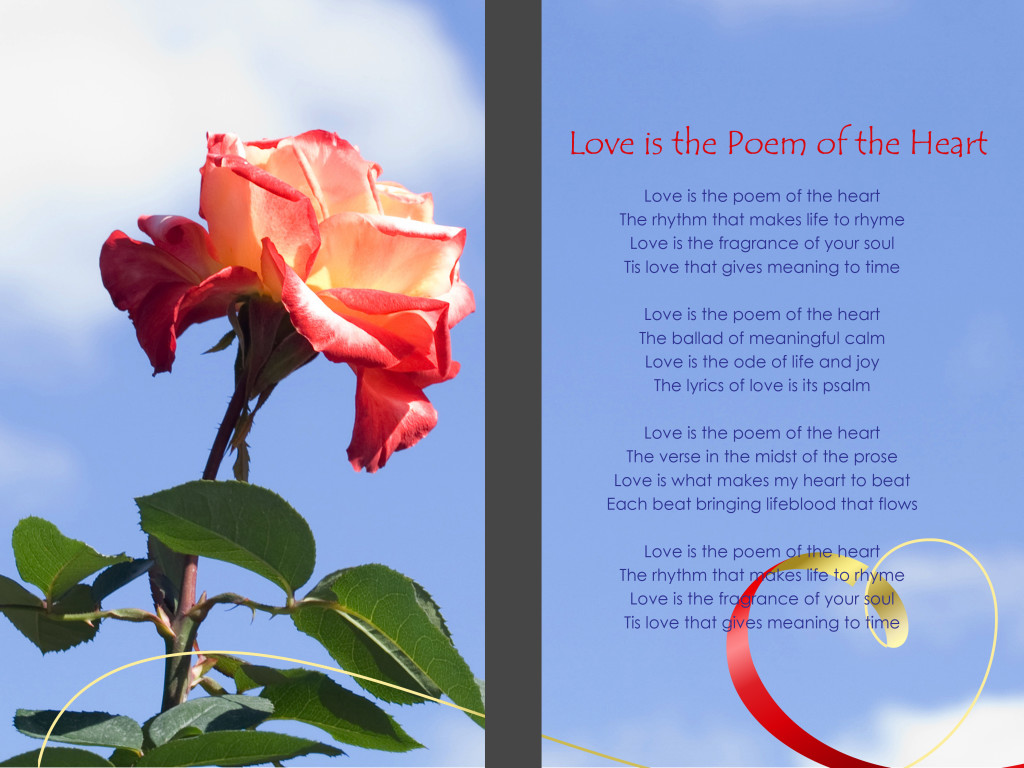 Love is the Poem of the Heart
