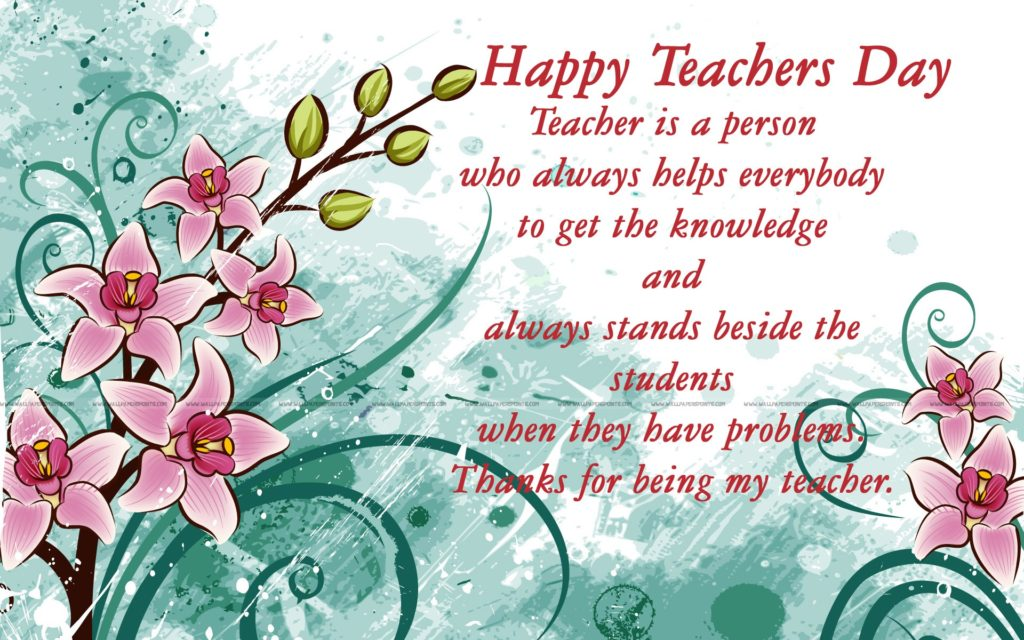 30 warm teachers day wishes for your teachers hd teacher day message wallpapers m4hsunfo