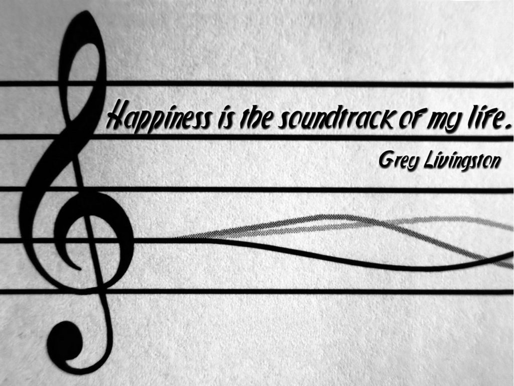 music Happiness-Quotes