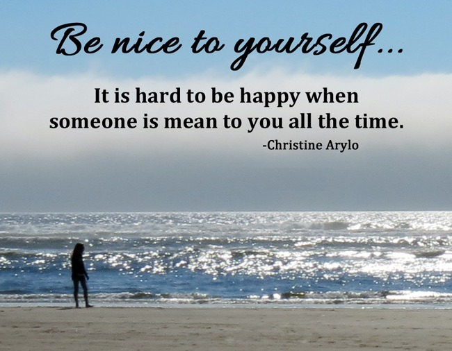 nice to yourself