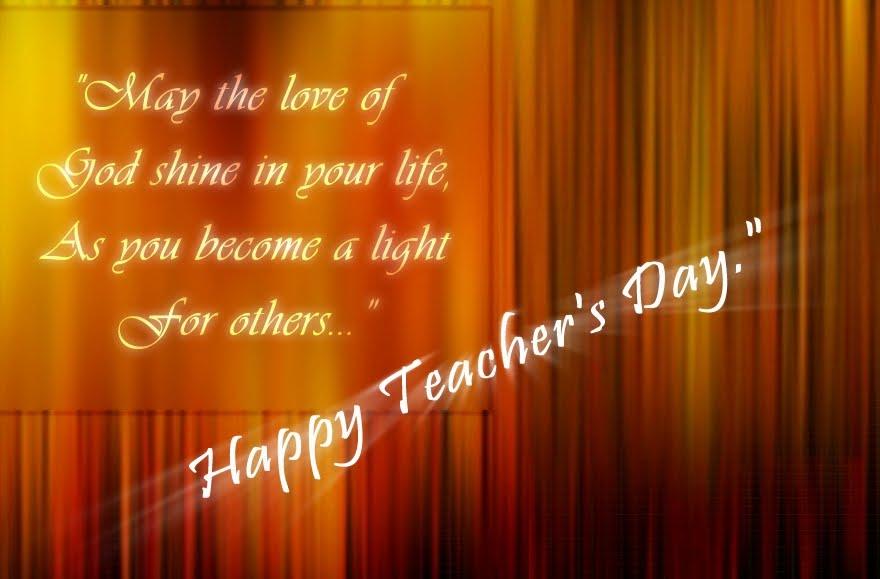 Essays On Teachers Day