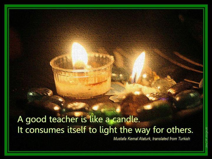 teachers day ataturk quote