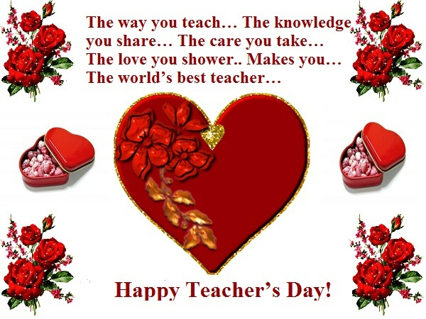 30 Warm Teachers Day Wishes For Your Teachers