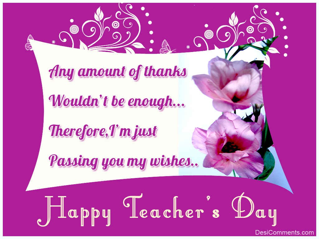 30 warm teachers day wishes for your teachers thank you teacher kristyandbryce Choice Image