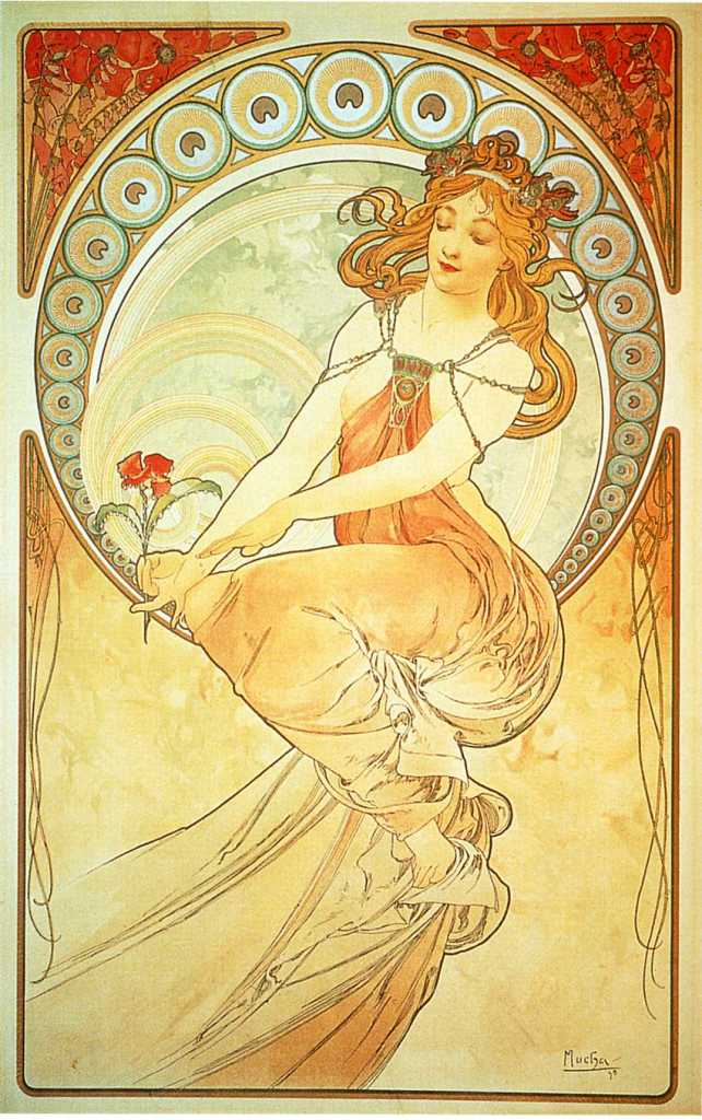 Alphonse Mucha Paintings