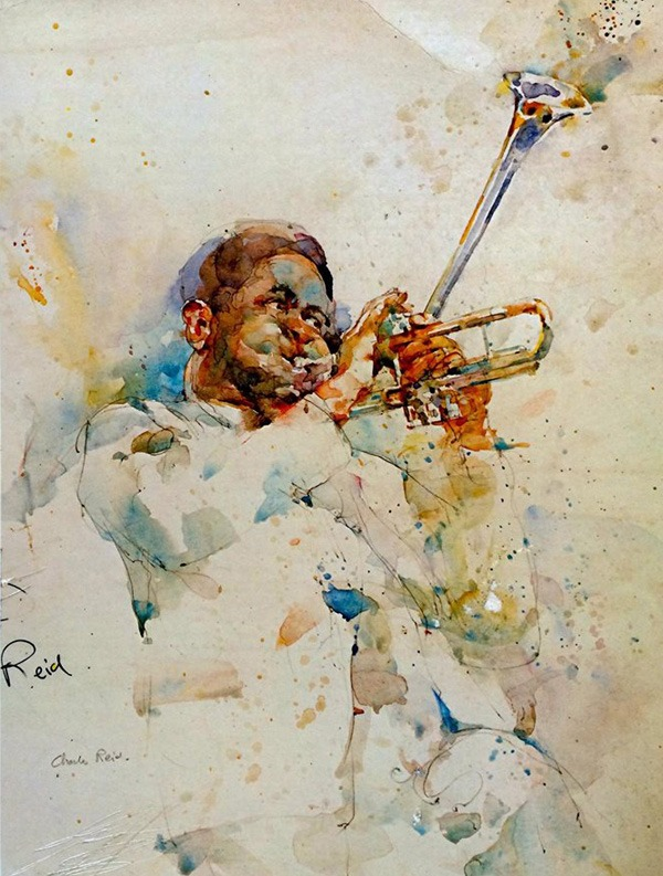 Watercolor Paintings by Charles Reid