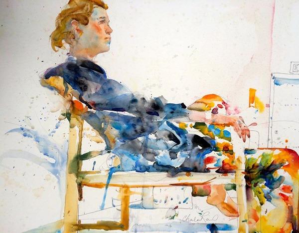 Charles-Reid water colour painting