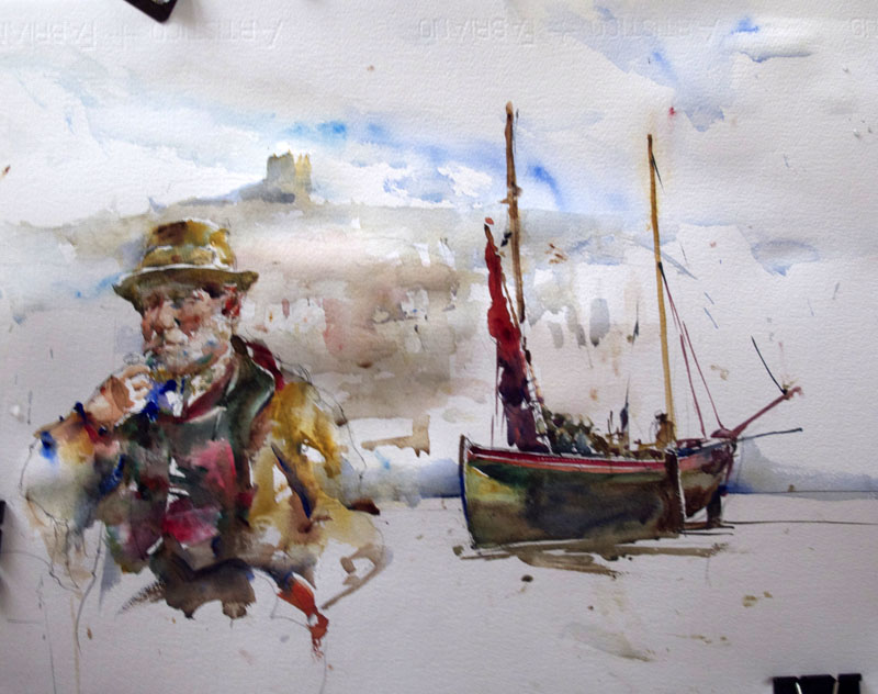 Charles-Reid watercolour art