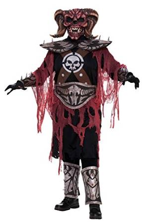Demon Warrior Deluxe Adult Costume