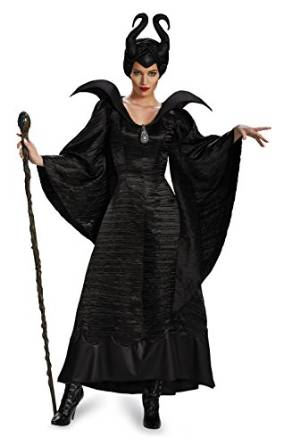 Maleficent Christening Black Gown