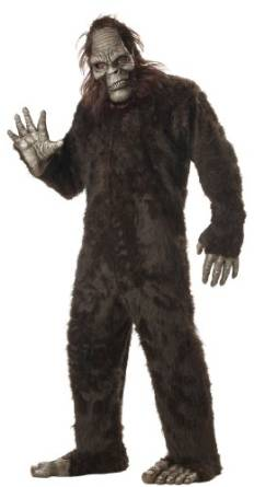Men's Big Foot Costume