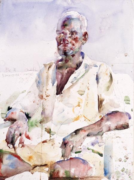 Water color Figurative Paintings charles Reid