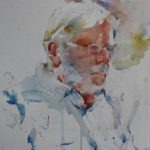 Watercolor Figurative portraits Charles Reid