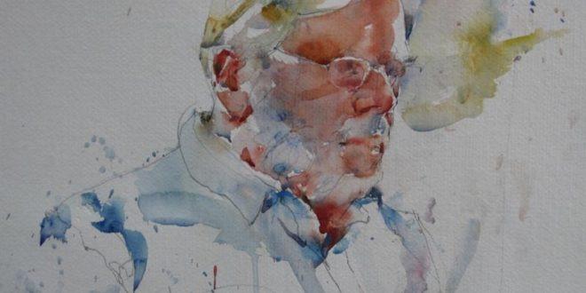 20 Figurative Watercolor Paintings by Charles Reid