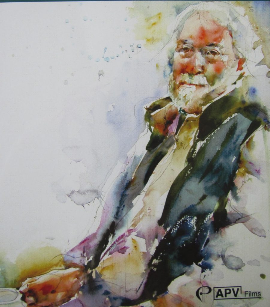 Watercolor portraits Charles Reid
