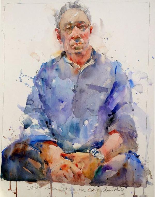 figurative painting Charles-Reid