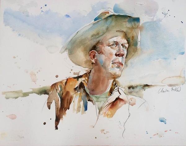 figurative paintings Charles-Reid