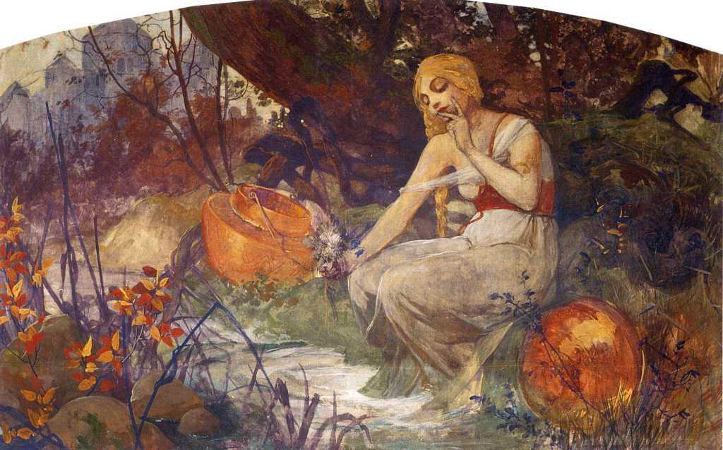 Mucha painting