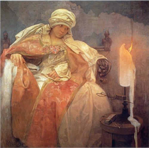 woman-with-a-burning-candle